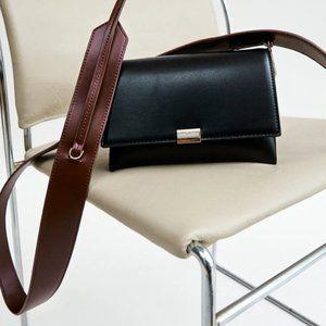 Zara minimalist black crossbody